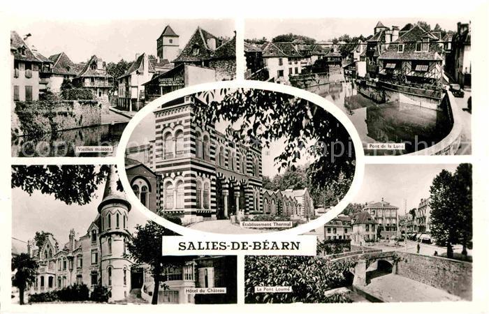AK / Ansichtskarte Salies de Bearn Hotel Chateau Pont Loume Kat. Salies de Bearn