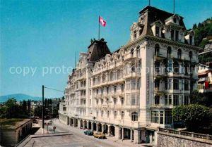 AK / Ansichtskarte Territet Montreux Grand Hotel  Kat. Montreux