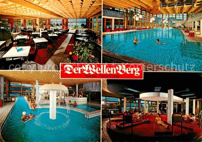 Ak ansichtskarte oberammergau der wellenberg schwimmbad for Schwimmbad oberammergau