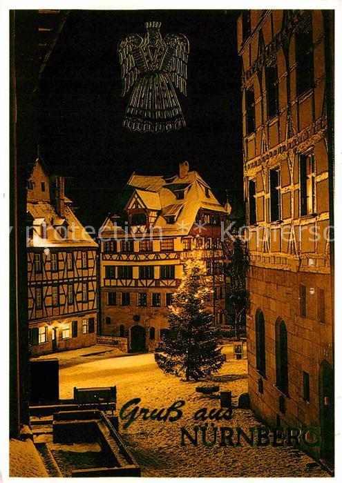 AK / Ansichtskarte Nuernberg Duererhaus zur Weihnachtszeit Kat. Nuernberg