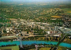 AK / Ansichtskarte Steele Ruhr Fliegeraufnahme Brueckenpartie Kat. Essen