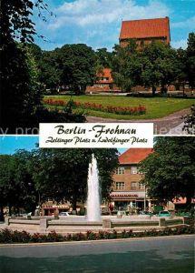 AK / Ansichtskarte Frohnau Berlin Zeltinger Platz und Ludolfinger Platz Kat. Berlin