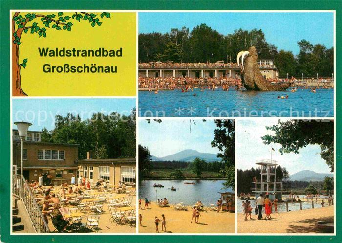 AK / Ansichtskarte Grossschoenau Waldviertel Waldstrandbad Teilansichten Kat. Grossschoenau