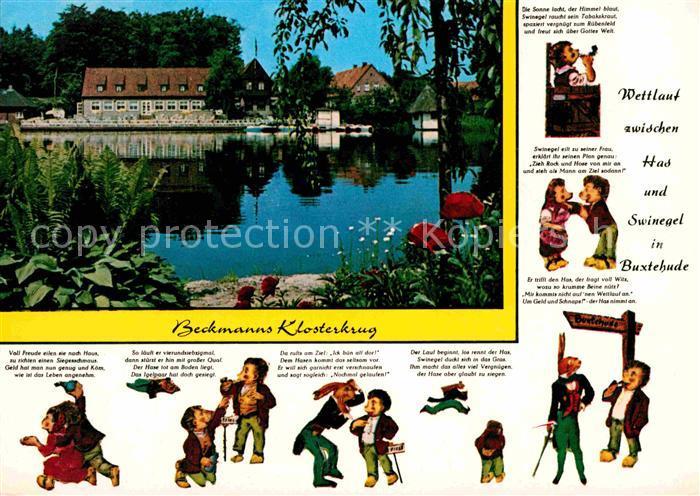 AK / Ansichtskarte Neukloster Niederelbe Beckmanns Klosterkrug Hotel Restaurant Kat. Buxtehude