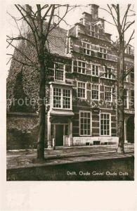 AK / Ansichtskarte Delft Oude Gevel Oude Delft Giebelhaus Kat. Delft