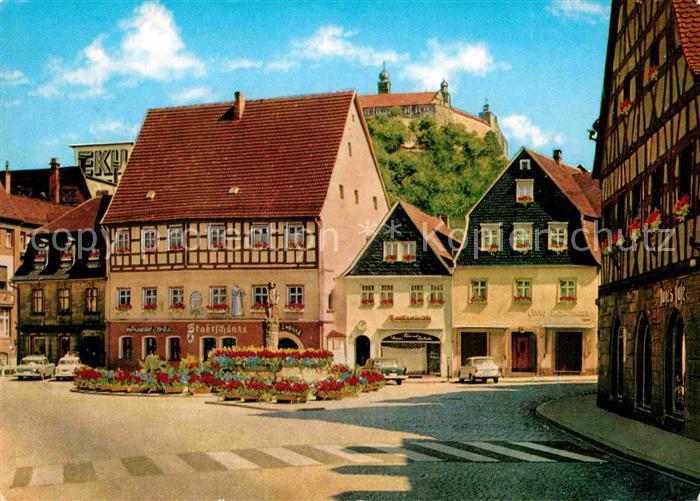 AK / Ansichtskarte Kulmbach Holzmarkt  Kat. Kulmbach