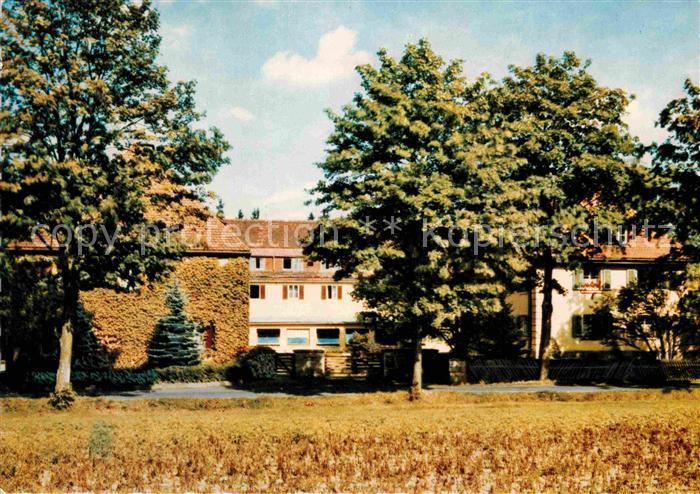 AK / Ansichtskarte Silberbach Hof Evangelisches Erholungsheim Haus Silberbach