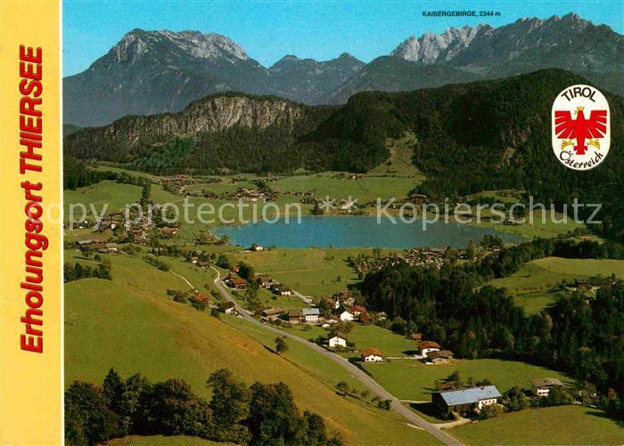 AK / Ansichtskarte Thiersee Fliegeraufnahme Kat. Thiersee