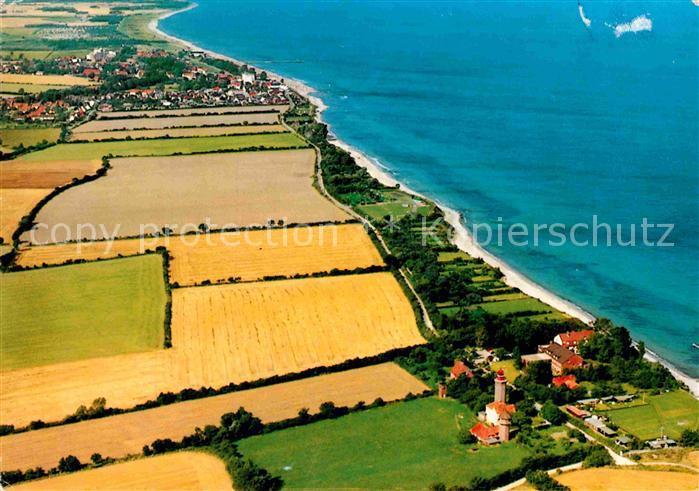 AK / Ansichtskarte Dahme Ostseebad Fliegeraufnahme mit Leuchtturm  Kat. Dahme