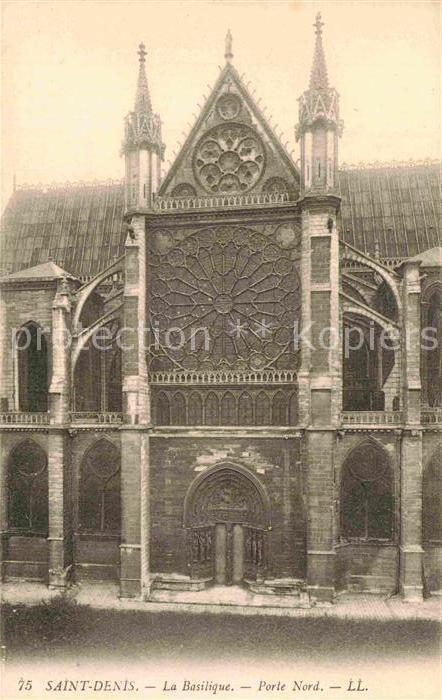 AK / Ansichtskarte Saint Denis Seine Saint Denis Kathedrale
