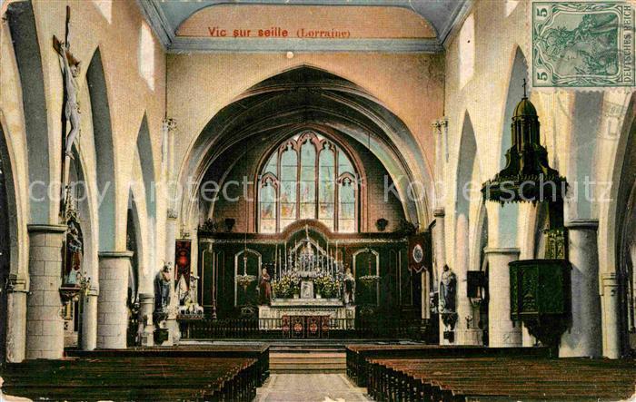 AK / Ansichtskarte Vic sur Seille Altar Kat. Vic sur Seille