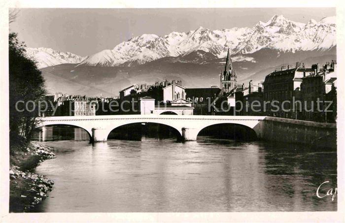 AK / Ansichtskarte Grenoble Marius Gontard Bruecke Alpen Kat. Grenoble