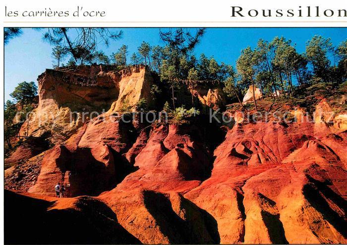 AK / Ansichtskarte Roussillon Vaucluse Les carrieres d ocre Kat. Roussillon