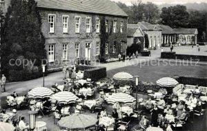 AK / Ansichtskarte Bad Driburg Kurplatz Gartenterrasse Restaurant Cafe Kat. Bad Driburg