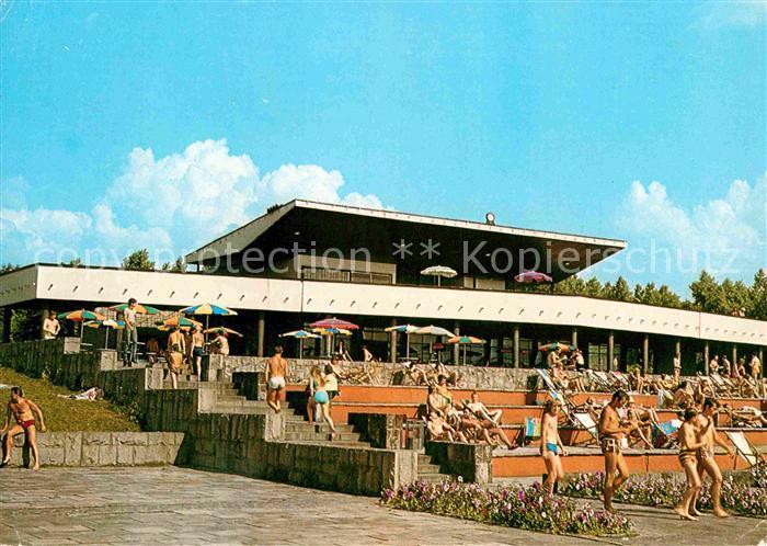 AK / Ansichtskarte Chorzow Wojewodzki Park Kultury i Wypoczynku Kapielisko Fala Kat. Koenigshuette Oberschlesien