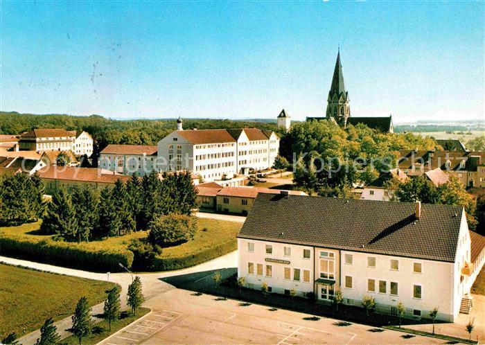 AK / Ansichtskarte St Ottilien Eresing Erzabtei St. Ottilien Klosteranlage Herz Jesu Kirche Gymnasium Kloster Gasthof  Kat. Eresing