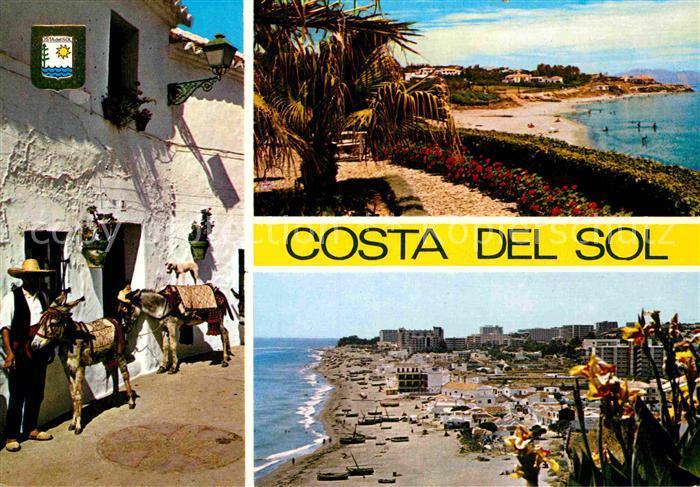 AK / Ansichtskarte Costa del Sol Playa Santa Ana  Kat. Spanien