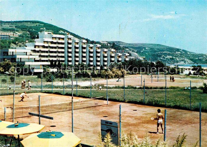 AK / Ansichtskarte Albena Tennisplatz Kat. Bulgarien