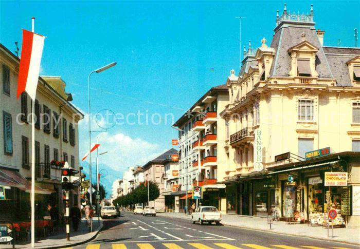 AK / Ansichtskarte Martigny VS Avenue de la gare Kat. Martigny