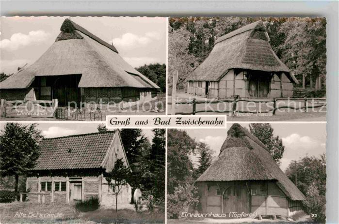 AK / Ansichtskarte Zwischenahn Bad Dwersack alte Schmiede Einraumhaus Toepferei Heuerhaus Kat. Bad Zwischenahn
