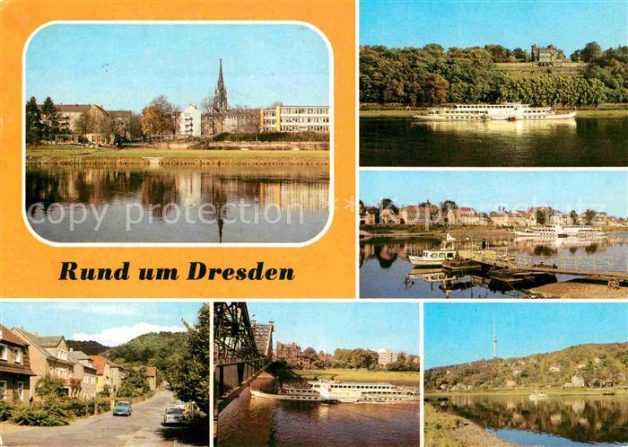 AK / Ansichtskarte Dresden Pillnitz Van Gogh Strasse Wachwitz Blasewitzer Ufer Kat. Dresden Elbe