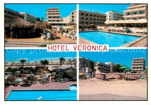 AK / Ansichtskarte Cala Millor Mallorca Hotel Veronica  Kat. Islas Baleares Spanien