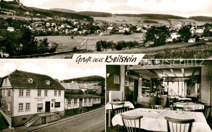 AK / Ansichtskarte Beilstein Westerwald Gasthaus Metzgerei Willi Held Kat. Greifenstein
