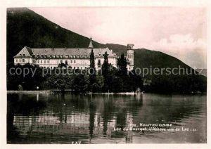 AK / Ansichtskarte Hautecombe Abbaye vue du Lac du Bourget Kat. Saint Pierre de Curtille