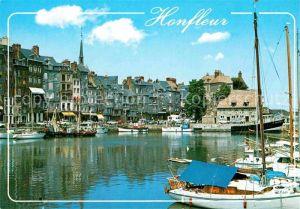 AK / Ansichtskarte Honfleur Bassin Sainte Catherine Kat. Honfleur