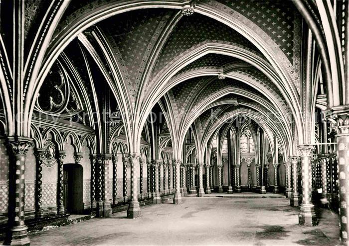 AK / Ansichtskarte Paris Sainte Chapelle du Palais Kat. Paris