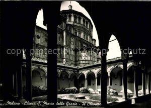 AK / Ansichtskarte Milano Chiesa S. Maria delle Grazie Il Chiostro Kat. Italien
