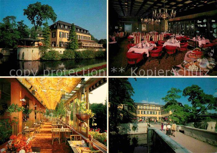 AK / Ansichtskarte Buer Gelsenkirchen Moewenpick Restaurant Hotel Schloss Berge Kat. Gelsenkirchen