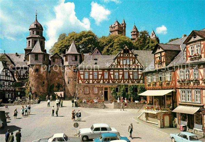 AK / Ansichtskarte Braunfels Schloss Stadttor Kat. Braunfels