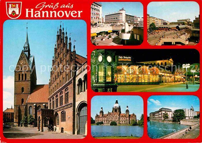 AK / Ansichtskarte Hannover Kirche Stadtansichten Kat. Hannover