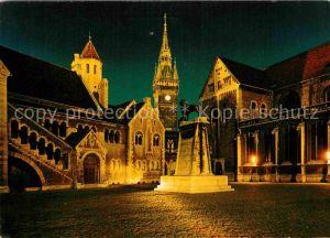 AK / Ansichtskarte Braunschweig Dom Burg Rathaus Kat. Braunschweig
