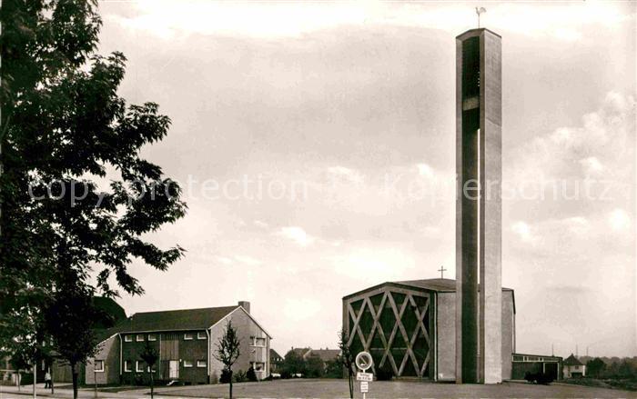 AK / Ansichtskarte Datteln St. Antonius Kirche  Kat. Datteln