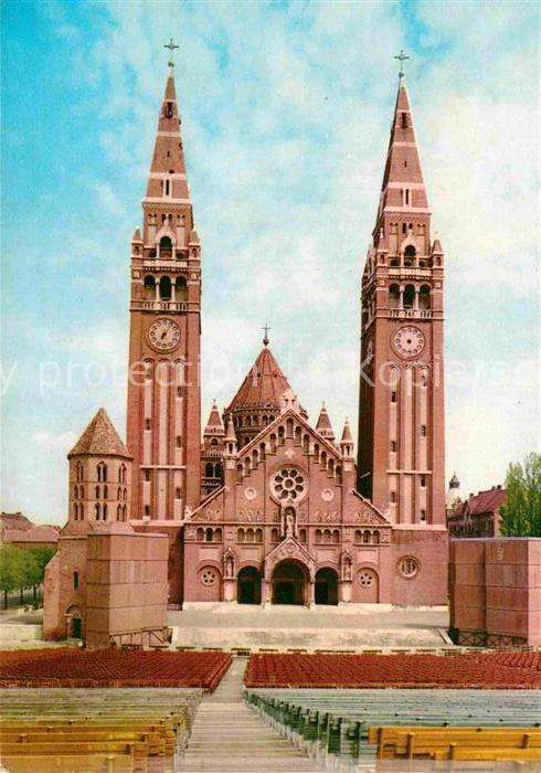 AK / Ansichtskarte Szeged Fogadalmi templom Kat. Szeged