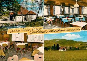 AK / Ansichtskarte Kirchzarten Geroldstal Gasthaus Pension Loewen  Kat. Kirchzarten