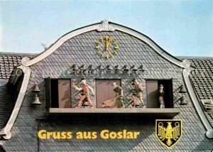 AK / Ansichtskarte Goslar Glockenspiel und Marktplatz Kat. Goslar