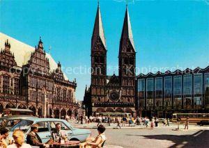 AK / Ansichtskarte Bremen Marktplatz Rathaus Dom Parlament Kat. Bremen