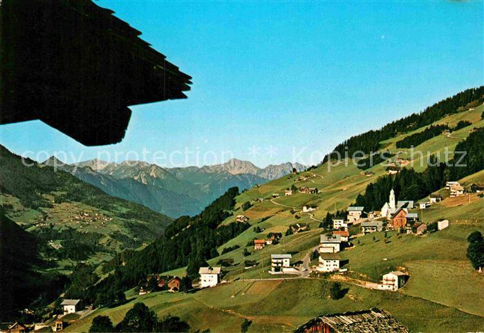 Vorarlberg Karte Berge.Ak Ansichtskarte Fontanella Schweizer Berge Grosses Walsertal Vorarlberg Kat Fontanella