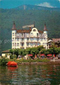 AK / Ansichtskarte Weggis Vierwaldstaettersee Hotel Gotthard au Lac