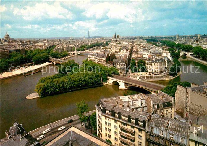AK / Ansichtskarte Paris Ile Saint Louis Collection Couleurs et Lumiere de France Kat. Paris