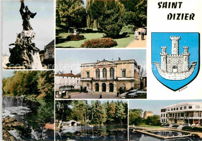 AK / Ansichtskarte Saint Dizier Haute Marne Schloss Denkmal Panorama Kat. Saint Dizier