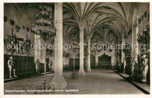 AK / Ansichtskarte Bebenhausen Tuebingen Sommerrefektorium im ehem Jagdschloss Kat. Tuebingen