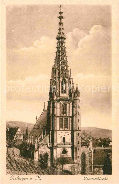 AK / Ansichtskarte Esslingen Neckar Frauenkirche Kat. Esslingen am Neckar