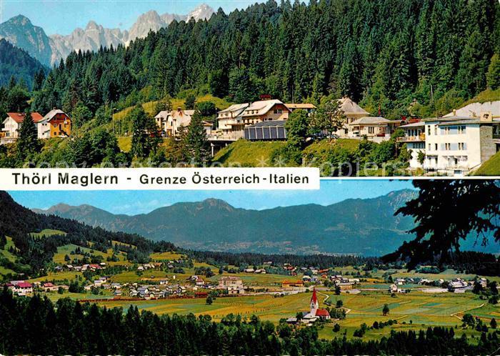 AK / Ansichtskarte Thoerl Panorama Grenze Kat. Thoerl