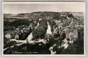 AK / Ansichtskarte Tuebingen Neckar Panorama mit Schlossblick