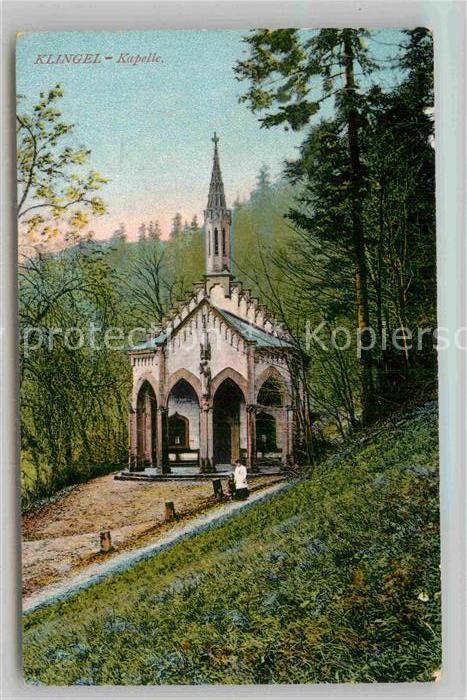 AK / Ansichtskarte Tuebingen Neckar Klingel Kapelle