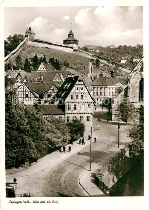 AK / Ansichtskarte Esslingen Neckar Burg Kat. Esslingen am Neckar